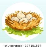 nest | Shutterstock .eps vector #377101597