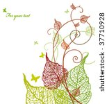 floral background   Shutterstock .eps vector #37710928