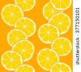 seamless pattern with cutted... | Shutterstock .eps vector #377150101