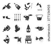 tattoo icons set. tattoo icons...
