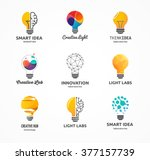 light bulb   idea  creative ... | Shutterstock .eps vector #377157739