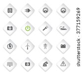 electricity simply symbol for...   Shutterstock .eps vector #377159269