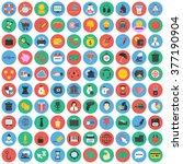 business icons set. | Shutterstock .eps vector #377190904