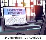 landing page optimization... | Shutterstock . vector #377205091