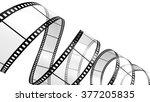 filmstrip  isolated on white | Shutterstock . vector #377205835