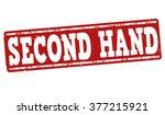 Second Hand Grunge Rubber Stam...
