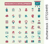 research  development  plan ... | Shutterstock .eps vector #377224495