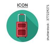summer icons design  | Shutterstock .eps vector #377229271