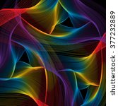 swirling web colors | Shutterstock . vector #377232889