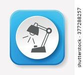 lamp icon | Shutterstock .eps vector #377288257