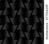 seamless pattern. monochrome.... | Shutterstock .eps vector #377316109