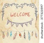 element for invitation... | Shutterstock .eps vector #377323597
