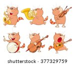illustration of a set of a cute ...   Shutterstock .eps vector #377329759