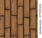 vector wooden block seamless... | Shutterstock .eps vector #377355124