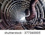 Abandoned Subway Tunnel. Kiev ...