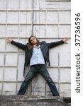 the teenager. | Shutterstock . vector #37736596