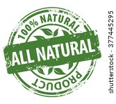 all natural organic products... | Shutterstock . vector #377445295