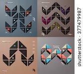 infographic design vector... | Shutterstock .eps vector #377479987