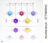 infographic design vector... | Shutterstock .eps vector #377480041