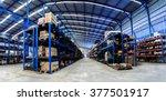 industrials warehouse for... | Shutterstock . vector #377501917