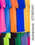 lots of bright colorful... | Shutterstock . vector #377507497