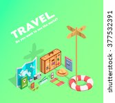tourism  trip and journey in...   Shutterstock .eps vector #377532391