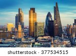 london  england   the bank... | Shutterstock . vector #377534515