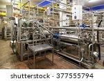 interior industrial premises. | Shutterstock . vector #377555794