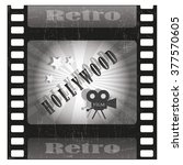 hollywood movies  | Shutterstock .eps vector #377570605