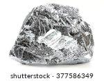 chromium isolated on white... | Shutterstock . vector #377586349