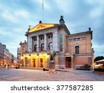 Oslo   National Theater  Norway