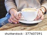 latte   Shutterstock . vector #377607391