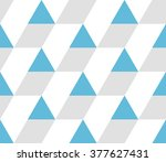 triangular background. seamless ... | Shutterstock .eps vector #377627431
