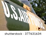 Us Air Force Marking On The...