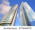 defense  paris  france ... | Shutterstock . vector #377644975