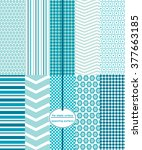 repeating patterns for digital... | Shutterstock .eps vector #377663185
