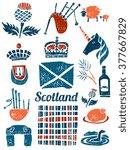 Symbols Of Scotland  St. Andre...