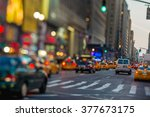 new york traffic chaos as... | Shutterstock . vector #377673175
