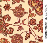 Flourish Tiled Pattern. Floral...