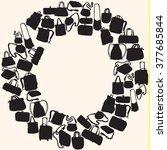 bags set | Shutterstock .eps vector #377685844