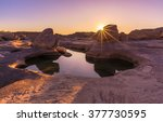 unseen thailand grand canyon...   Shutterstock . vector #377730595