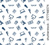 seamless vector pattern ... | Shutterstock .eps vector #377748574