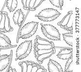 flower seamless pattern.  print ... | Shutterstock . vector #377773147