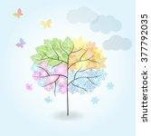 Four Seasons Tree  Spring ...