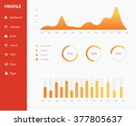 detailed infographic collection.... | Shutterstock .eps vector #377805637