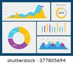 vector illustration. dashboard  ... | Shutterstock .eps vector #377805694