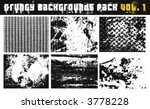 grungy background pack vol.1 | Shutterstock .eps vector #3778228