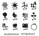 energy icon energy source...   Shutterstock .eps vector #377829157