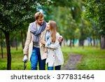 stylish couple | Shutterstock . vector #377831464