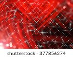abstract red fractal background ... | Shutterstock . vector #377856274
